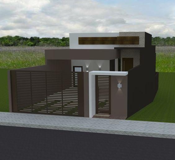 Fachadas de casas sencillas de un piso como organizar la - Fachadas de casas pequenas de un piso ...