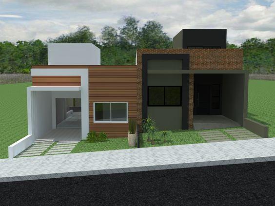 Fotos de fachadas de casas sencillas y bonitas for Fachadas de casas de un piso sencillas