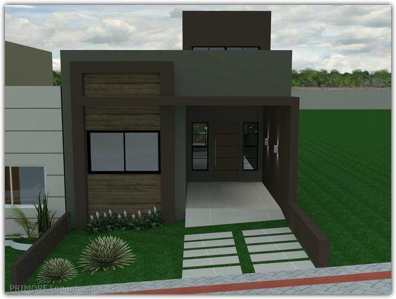 Fotos de fachadas de casas sencillas y bonitas - Fotos de casas de un solo piso ...