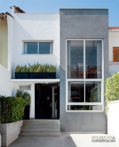 fachadas modernas blancas
