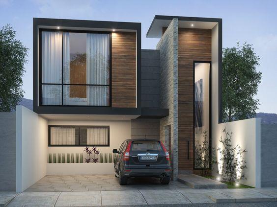 Fachadas modernas todo lo que tienes que saber para for Fachadas de casas de dos pisos sencillas