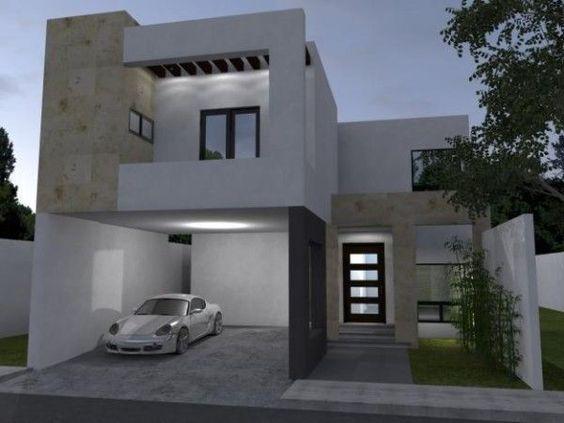 fachadas modernas minimalistas