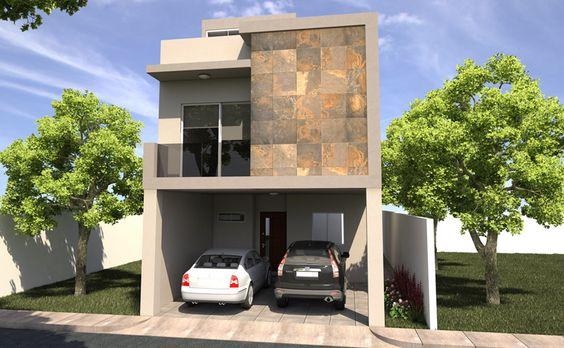 fachadas modernas y sencillas