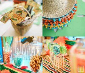 fiesta para adultos con tema mexicano