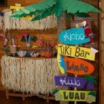 fiesta tematica de hawaiina
