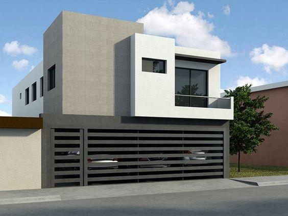Fotos de fachadas de casas sencillas y bonitas como for Organizar casa minimalista