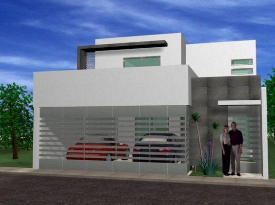 Fotos de fachadas de casas sencillas y bonitas como for Fotos de casas modernas sencillas