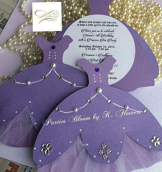 Invitaciones de princesita sofia originales