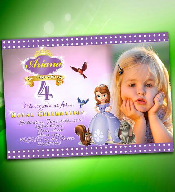 invitaciones de princesita sofia personalizadas (5)