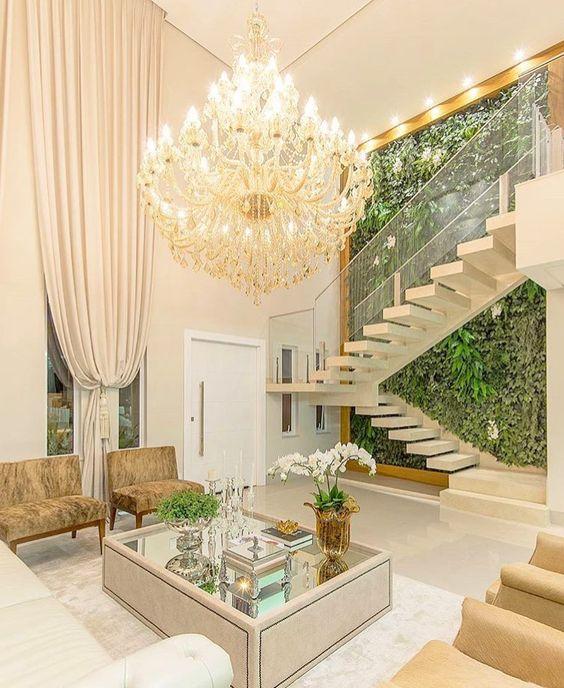 jardines dentro de la casa