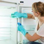 limpieza para el refrigerador