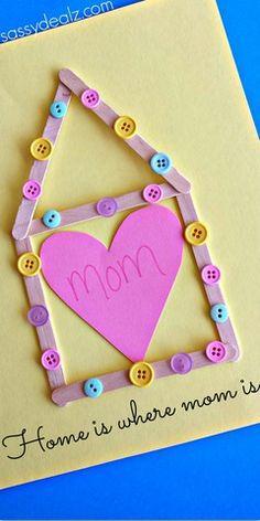 Manualidades para el dia de la madre para niños