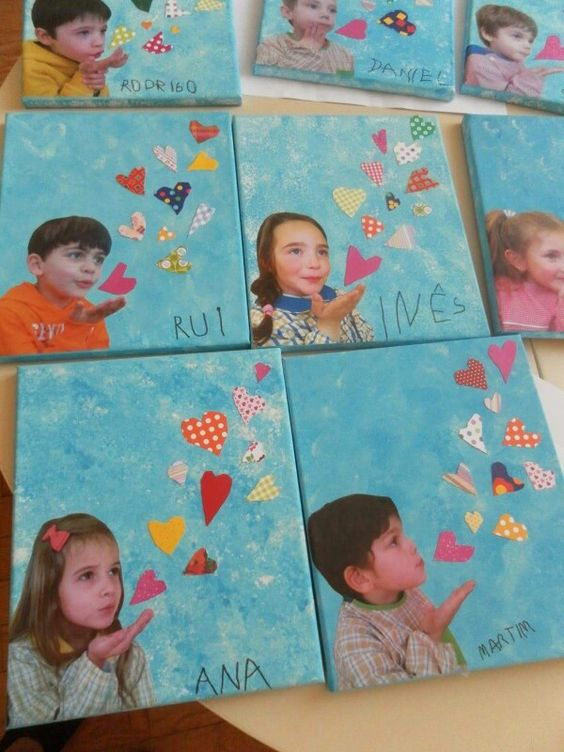 Manualidades para el dia de las madres para niños de preescolar
