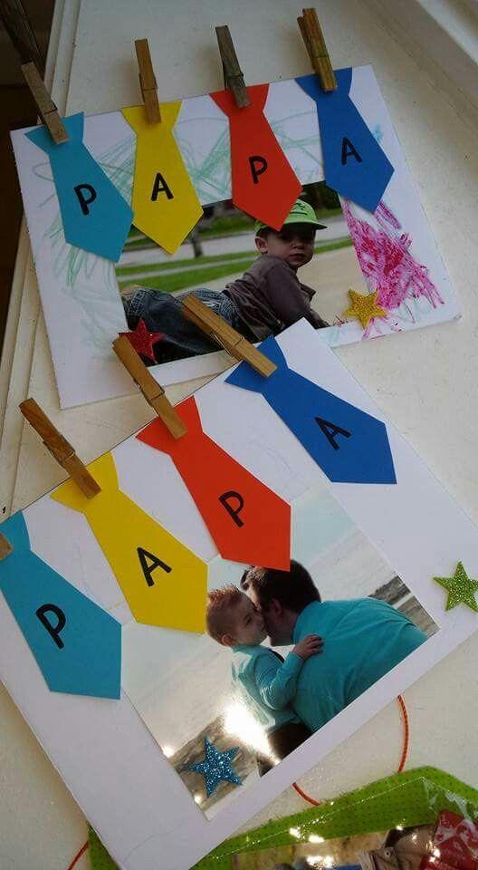 Manualidades para el día del padre fáciles para niños