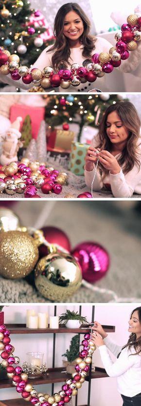 manualidades para hacer adornos navideños