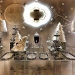 mesas de postres navideñas