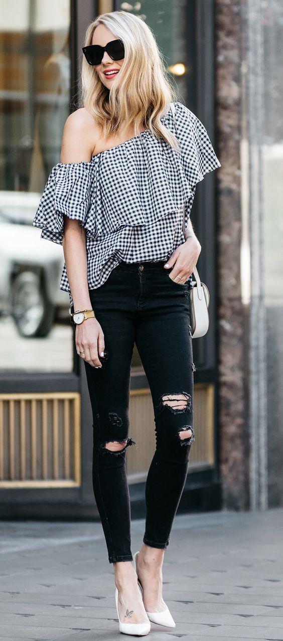 Modas de blusas modernas