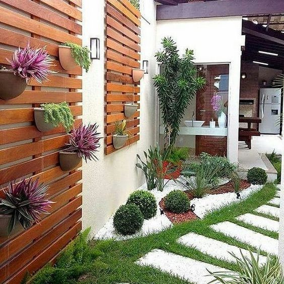 Paisajismo para jardines jardines y paisajismo moderno for Decoracion de jardines y muros exteriores