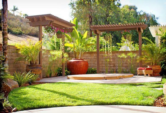 Paisajismo moderno para patios y jardines decoracion de for Paisajismo patios