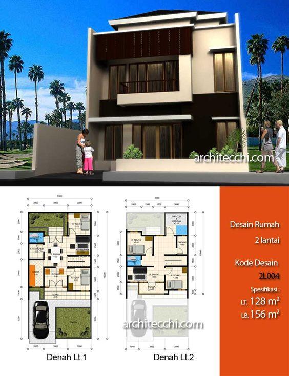 planos para fachadas de casas modernas