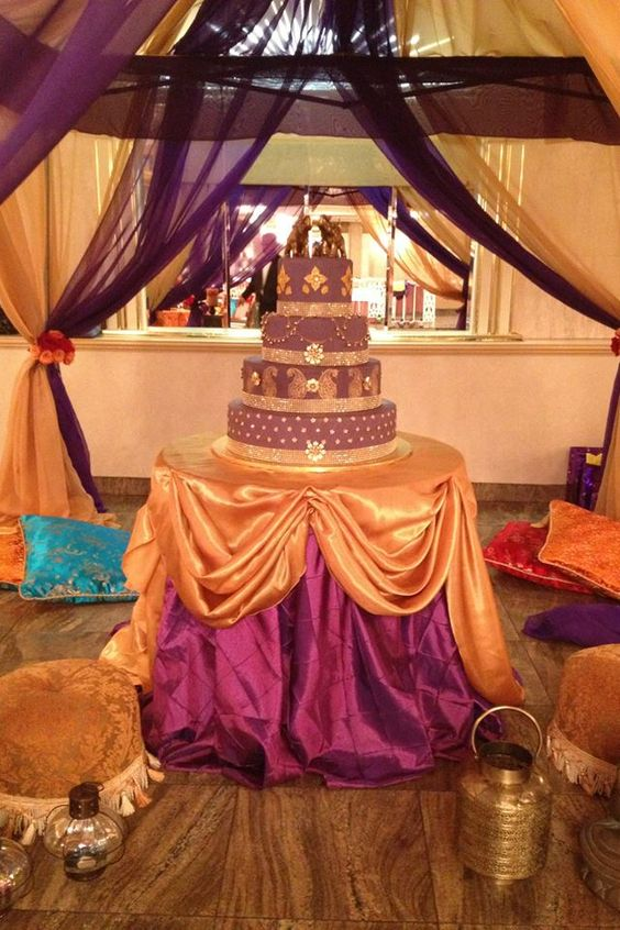 Fiesta de 15 con tema arabe