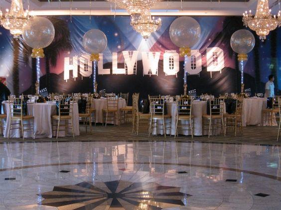 Tema para fiesta de 15 años de el viejo hollywood