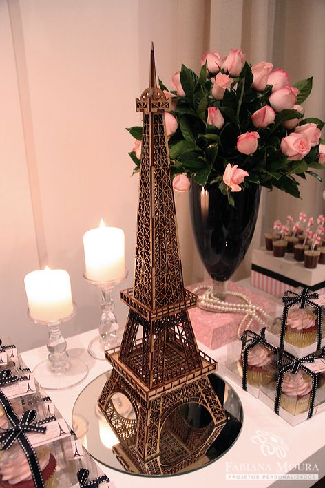 Tema de París para fiesta de 15 años