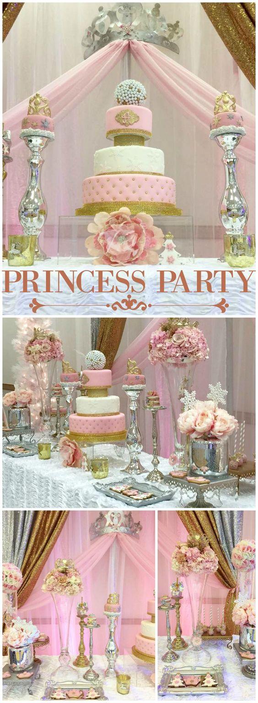 Tema de Princess para 15 años modernos