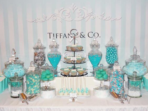 Fiesta de 15 años con tema desayuno en Tiffany