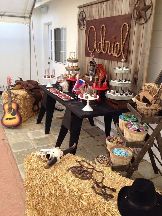 country themed party ideas for adults