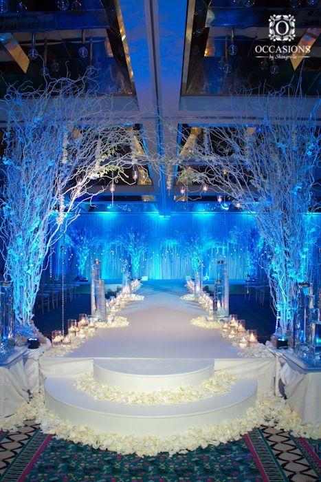 Tema para fiesta de 15 años winter wonderland