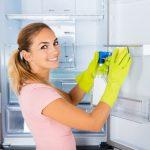 trucos para limpiar puertas del refrigerador