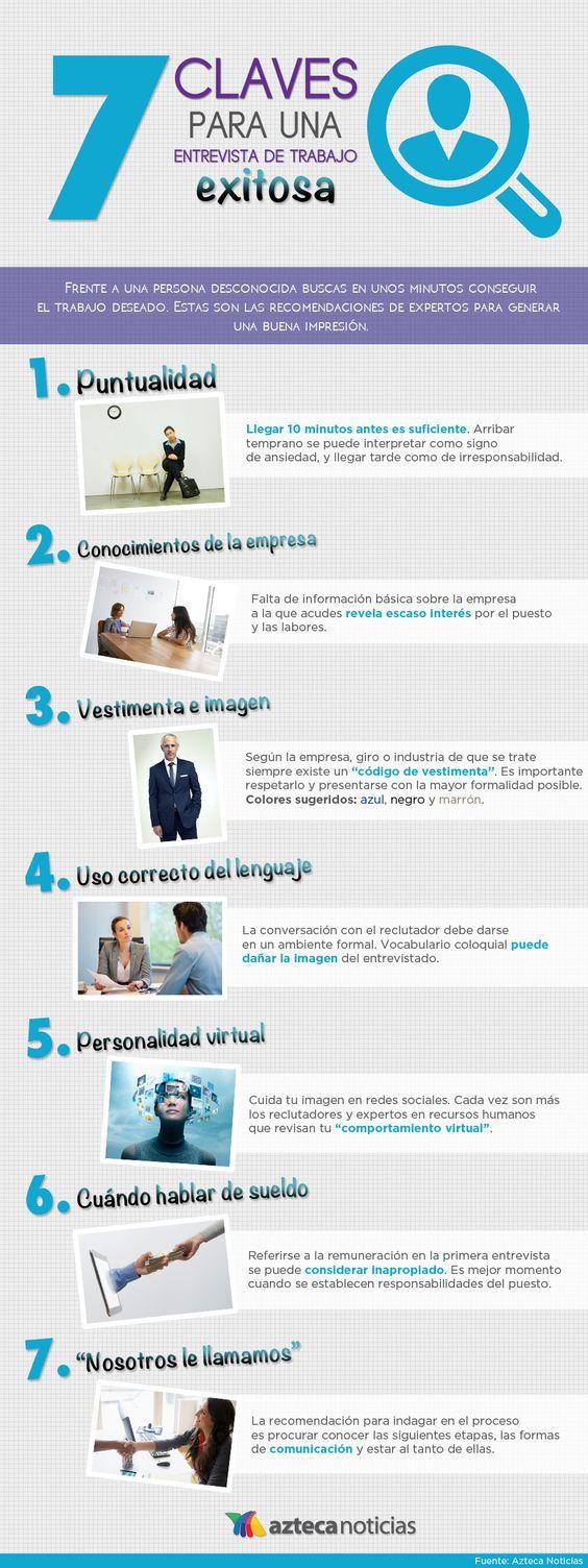 claves para una entrevista de trabajo exitosa