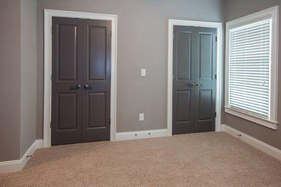 Colores de moda para puertas interiores