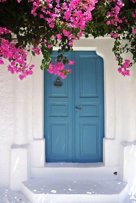 Colores de puertas exteriores decoracion de interiores for Colores para puertas exteriores