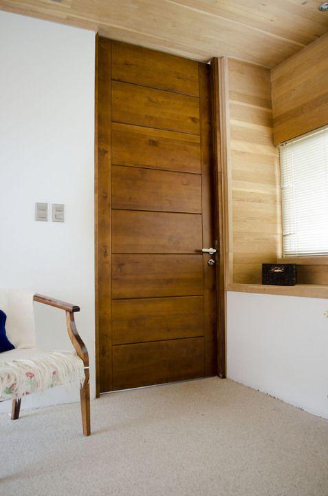 Colores para pintar puertas de madera 1 decoracion de for Puertas de madera interiores modernas
