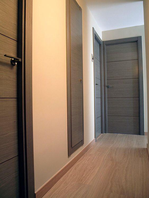 Colores para pintar puertas de madera como organizar la for Puertas decorativas para interiores