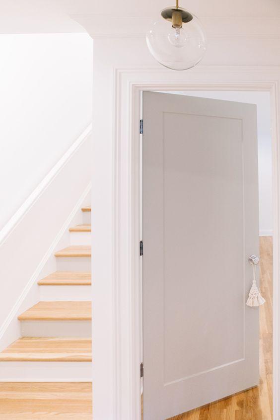 Ideas para pintar tus puertas interiores tendencias 2018 - Colores de puertas de madera ...