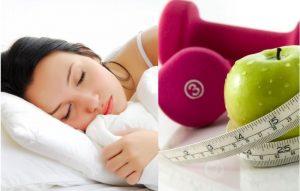 como perder grasa mientras duermes