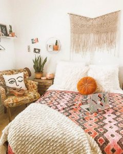 Decoración de interiores estilo hippie