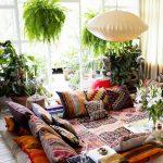 Decoración de interiores estilo hippie