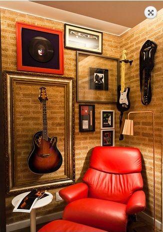 Decoración de interiores estilo rock