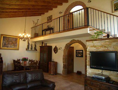 Decoración de interiores estilo vaquero