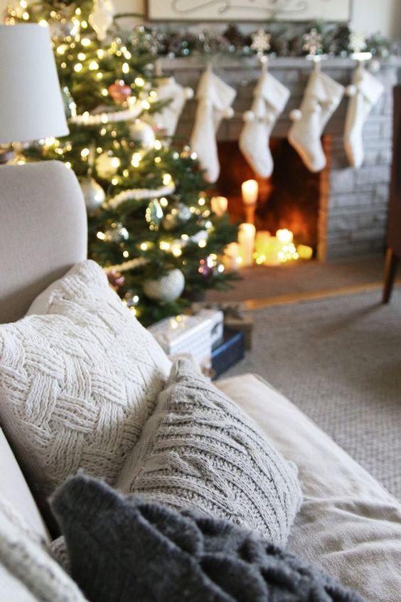 decoraciones navidenas 2018 para sala de estar (1)