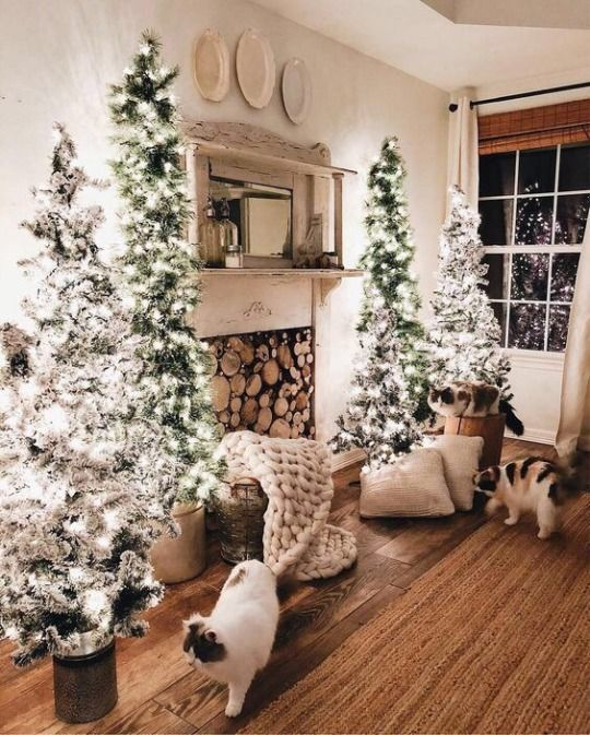 Decoraciones navide as conoce las mejores tendencias del for Decoraciones para la pared de la sala