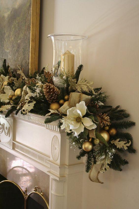 Decoraciones navideñas elegantes