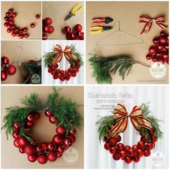 Decoraciones navide as f ciles de hacer decoracion de - Decoraciones navidenas faciles ...
