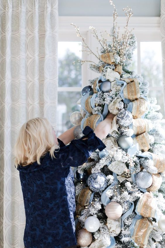 Decoraciones navideñas modernas