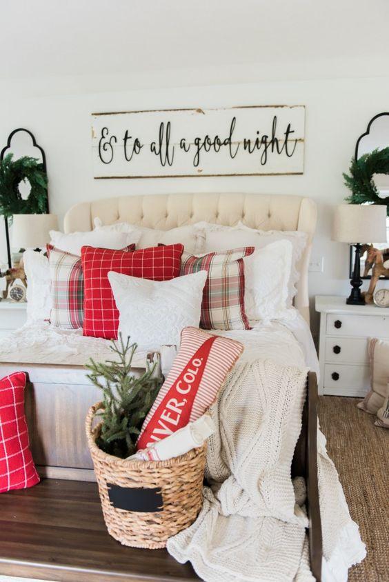 Decoraciones navideñas para habitaciones