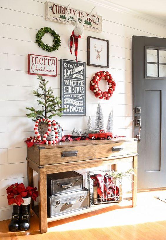 Decoraciones navide as conoce las mejores tendencias del for Decoraciones navidenas para la casa